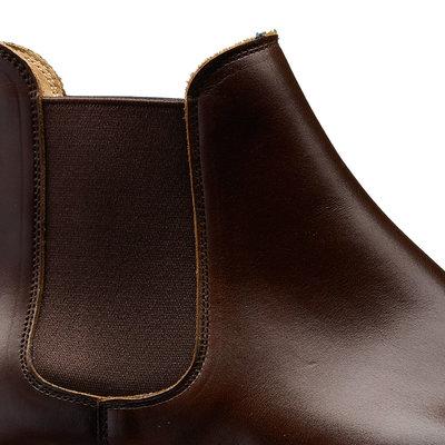 Chelsea 5. Dk Brown Wax Calf