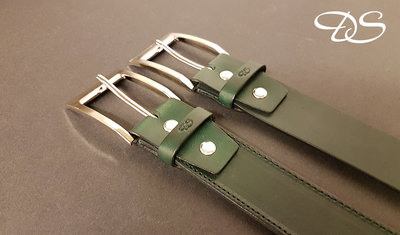 Bälte 35 mm. British Racing Green